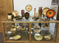Woodturning Display case for Woodturned Art